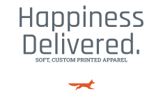 Happiness delivered through Foxtrot Custom