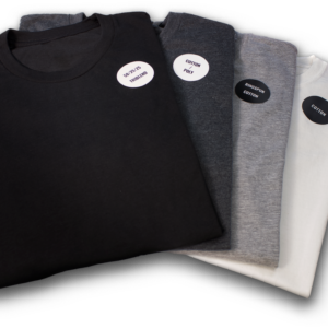 4 different fabric t-shirt sample pacl
